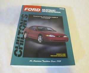 Chilton's Ford Mustang 1994-98 Repair Manual 26608