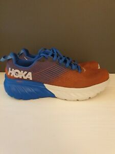 Hoka One One Mens Red/Blue Mach 3 Running Shoes - UK Size 9