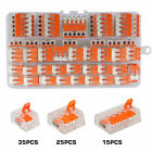 75Pcs 221-412 Lever Nut Compact Splicing Wire Connectors - 2/3/5 Conductor Set