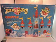 Vintage 1989 Muppet Babies Castle playset, MIB, contents still sealed!