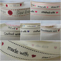 Grosgrain ribbon 16mm - Berties bows Handmade with love, knitted, quilted etc 2m