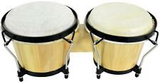 """Chord 176.425UK BG67 Bongo 6.5"""" and 7.5"""" Diameter with Tunable Hide Head Natural"""
