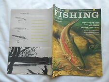 THE NEW 1957 FISHING ANNUAL-BY LARRY KOLLER-TROUT-THE BIG PIKES-BAIT-CASTING