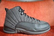 VNDS Nike Jordan Retro 12 Wool Size 10 XII AJ12 Flu 852627 003 Grey Black 9c916646c00