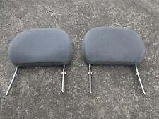 VAUXHALL CORSA B 2x FRONT HEADRESTS IN GREY 1993- 2000 passenger & drivers side