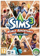 The Sims 3 World Adventures Expansion Pack (PC/Mac DVD) SEALED NEW