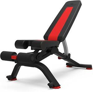 New Bowflex SelectTech Adjustable Weight Bench Series 5.1S Workout Dumbbells Gym