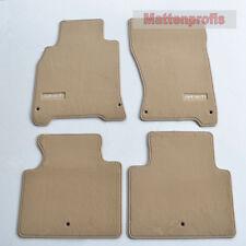 Premium Top Velour Edition beige Fußmatten für Infiniti M Y51 ab Bj. 2010 Heute