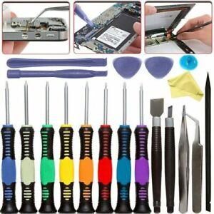 20 Pcs Mobile Phone Repair Tool Kit Screwdriver Set iPhone iPod iPad Samsung UK