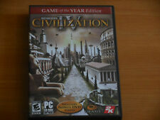 Civilization IV (PC, 2005) Game of the Year Edition