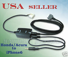 iPhone6 iPhone5 to HONDA ACURA CRV MDX 05-08 Audio Interface Cable Set