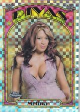 Rare! MELINA PEREZ 2007 Topps WWE Heritage II *X-FRACTOR* Trading Card #69