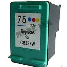 HP 75 12ml di inchiostro della cartuccia di stampa CB337W HP75 CB337 C4225 C4240