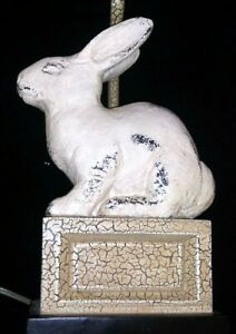 UTTERMOST BUNNY RABBIT Table Lamp SHABBY CHIC-FARM HOUSE-COTTAGE-FRENCH COUNTRY