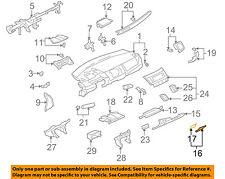 mitsubishi oem 08 17 lancer instrument panel dash fuse box. Black Bedroom Furniture Sets. Home Design Ideas