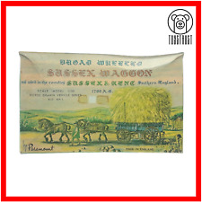 Paramount Broad Wheeled Sussex Waggon w Horses Vintage Model Kit 1:30 Scale