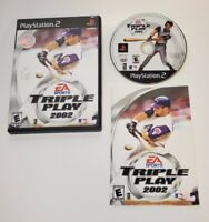 Triple Play 2002 (Sony PlayStation 2, 2001) PS2 Complete