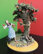 """Franklin Mint Turner Ent. WIZARD OF OZ """"Dorothy  & the Wicked Apple Tree"""" MINT"""