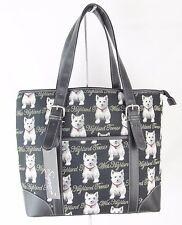 Tapestry West Highland Terrier Dog Handbag or Shoulder Bag Ext Pouch Signare