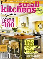 Small Kitchens Magazine Updates And Makeovers Instant Islands Storage Layouts