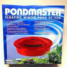 Pondmaster 120 Watt Floating Pond Deicer, 02175 -water garden-koi-heater-winter