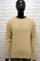 Maglione Lana Uomo LEVI'S Taglia L Maglia Felpa Pullover Cardigan Sweater Man