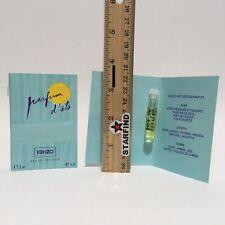LOT 2 Vintage Kenzo Parfum D'Ete Eau De Toilette Sample Mini Travel Size Perfume