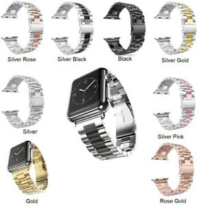 Für Apple Watch Series Edelstahl Armband SE  6 5 4 3 2 1 38-40 / 42-44mm DE