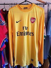 Arsenal Football Shirt GK Large Almunia 1 2009/10 Goalkeeper