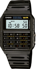 Casio Men's 8-Digit Calculator Resin Band 35mm Watch CA53W-1