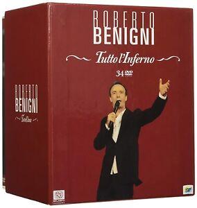 ROBERTO BENIGNI: TUTTO L'INFERNO (34 DVD) COF. UNICO