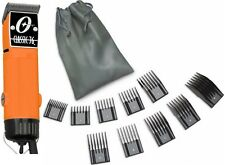 New Oster Classic 76 Orange Color Edition Hair Clipper+10 PC Comb Set