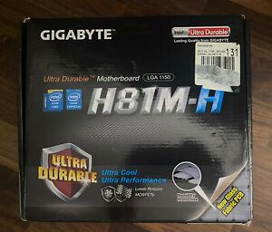 Gigabyte H81M-H Motherboard | LGA 1150 | Micro ATX | Includes I/O Shield