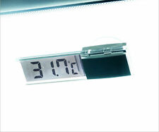 Car Auto LCD Digital Clock Thermometer Temperature Voltage Meter Monitor