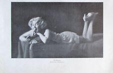 Die Banane Photostudie Friedmann - alter Druck aus 1929 old print