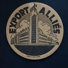 Brasserie des Alliés sous-bock bierviltje bierdeckel coaster (noir)
