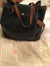 orla kiely Leather Blue Rucksack bag