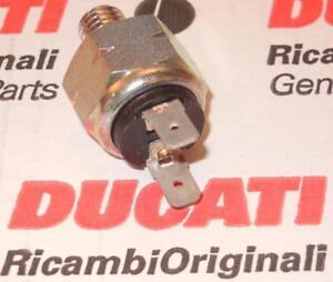 1980's-on Brembo hydraulic brake switch 10mm X 1.5 threads Ducati, Guzzi, 027793