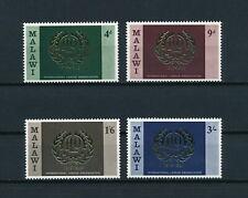 Malawi  110-13  MNH,  ILO Emblem, 1969