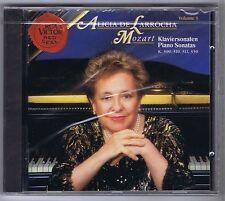 ALICIA DE LARROCHA CD NEW MOZART SONATAS K 309,310,311,330