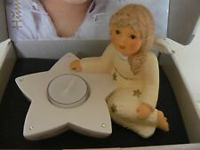 Angel figurine with Star tealight Candle Holder Zeit fur Hummel New in Box
