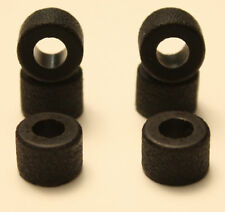 6 Rear Tires for Tyco 440x2 Slot Car High Performance !