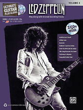 Led Zeppelin Ultimate Guitar Play Along Vol.2 Tab Book 2 Cd Set NEW!