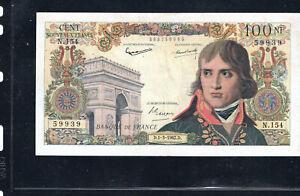 Billet 100 Nouveaux Francs Bonaparte 01/03/62 TTB+ Fay 59-14