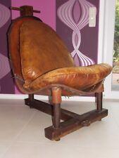 Außergewöhnlicher Designer Lounge Chair Clubsessel  Eames Ära XXL