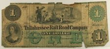 Florida - Tallahassee Rail Road Co. - $1.00 - 1861
