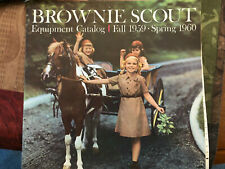 Brownie Scout Equipment Catalog Fall 1959 Spring 1960