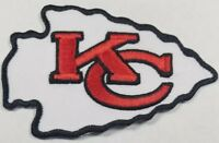 Kansas City Chiefs~Iron On Logo~Embroidered Patch~Free Shipping From the U.S.A.~