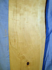 "#3629 Wild Cherry Live Edge Slab table top shelf rustic wood 39""L8 1/4""W1 1/16""T"