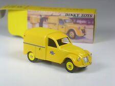 TOP: Dinky / Norev Citroen 2 CV Fourgonnette Postale in OVP